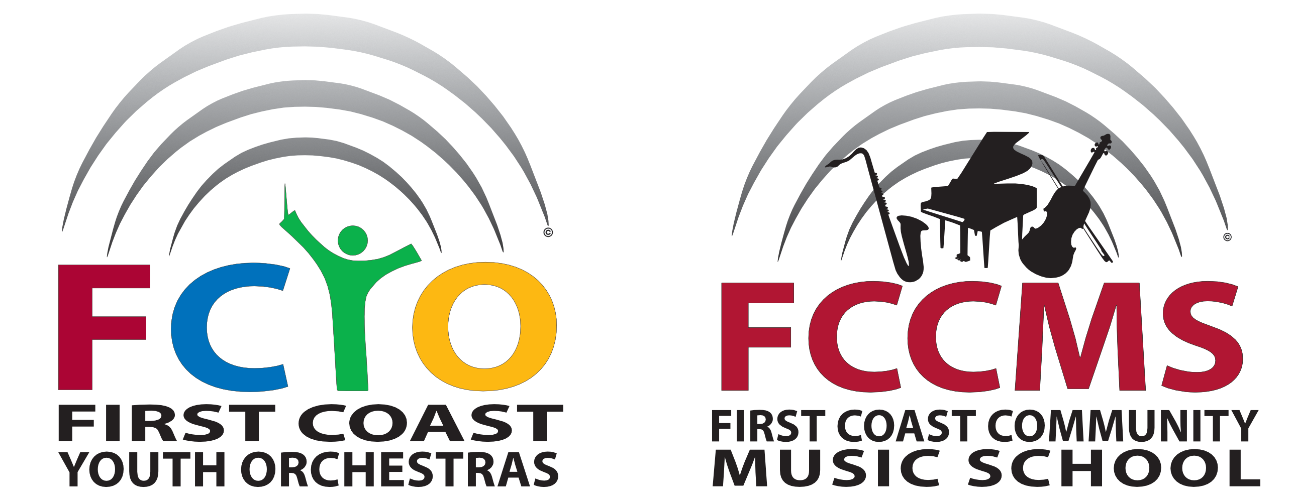 Logo for First Coast Youth Orchestras